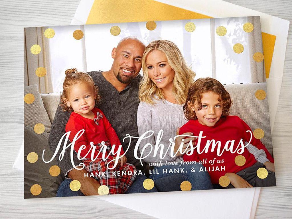 The Classic Custom Christmas Family Card